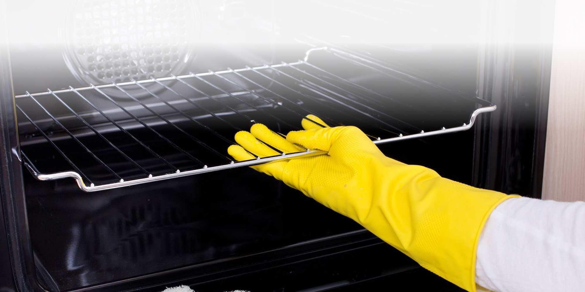Cómo limpiar el horno, paso a paso